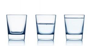 systemische Therapie das Glas ist halb voll und nicht mehr halb leer