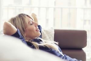 iStock_Frau entspannt